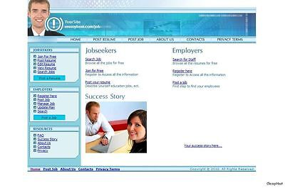 Job, Career, Employment Website For Sale, Free Domain