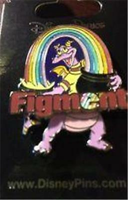 FIGMENT With GLITTER Sparkle RAINBOW 2014 WDW DISNEY PIN 106679