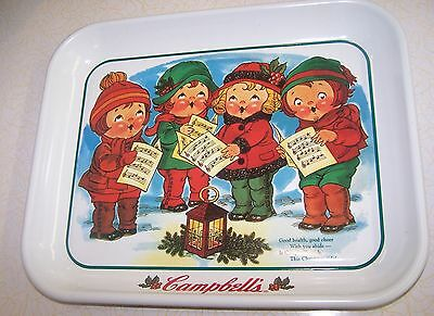 """CAMPBELL's SOUP KIDS METAL 10 1/2"""" X 13 1/4"""" TRAY W/ MAGNET 1995"""