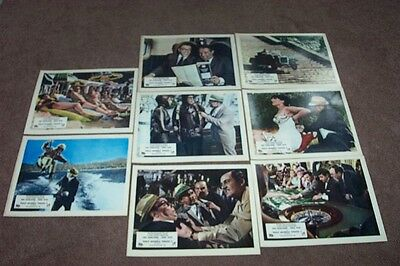 That Riviera Touch   8 Lobby Cards (Stills)   10 X 8   New!  Morecambe & Wise