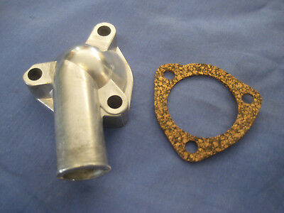 MG NEW MGB THERMOSTAT HOUSING & GASKET 12H797 1962  TO 1967 ****MGA ...Bive.EBs1