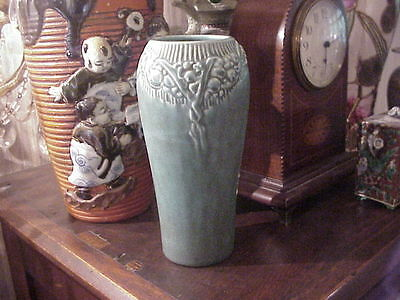 ROOKWOOD MATTE GREEN VASE 1928 SHAPE 2210 Excellent 7 1/8""