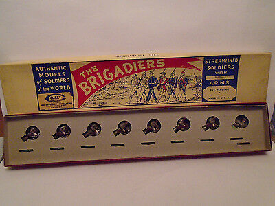 COMET METAL PRODUCTS THE BRIGADIERS  #1251 WWI SOLDIERS MINT IN ORIGINAL BOX