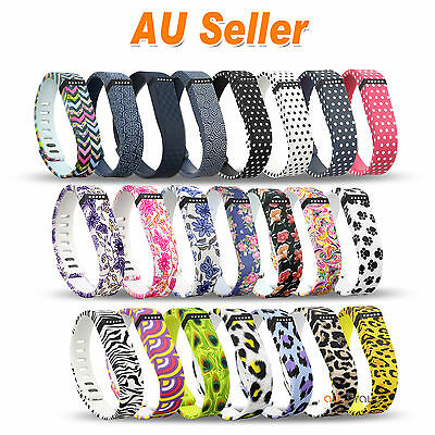 Fashion Replacement Wristband Bracelet Large Small Band for Fitbit Flex + Clasp