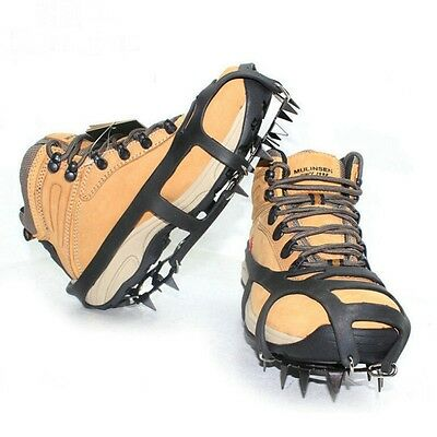 Hiking M Spikes 18 Teeth Ice Snow Crampons Shoe Outdoor