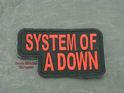 Patches Aufbügler Aufnäher System of a Down Rock'N'Roll Hardrock