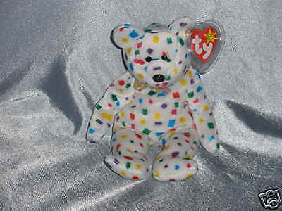 1999 Ty Beanie Baby  Ty 2K the Bear Born January1, 2000 ( 8 1/2 inches)