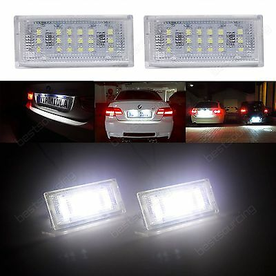 1998-2003 Canbus LED License Number Plate Light Lamp For BMW E46 2D M3 Coupe