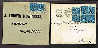 CANADA NORWAY #91 30 CENT 3 OUNCE RATE + 10 CENT (ARL6