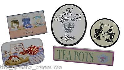 "The Queen's Treasures SHOPPE COUNTER TEA ROOM SIGNS For 18"" American Girl Dolls"
