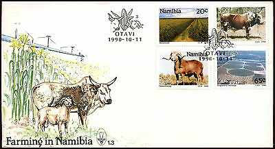 Nambia 1990 Farming FDC First Day Cover #C22055