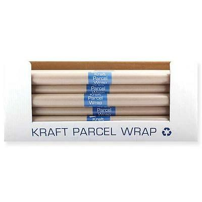 Brown Kraft Parcel Wrap 8M x 50cm Roll Paper Packing Wrapping Parcels Posting