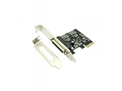 APPROX 1-Port 25-Pin Parallel PCI-E Interface Card with High/Low Profile