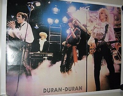 """Duran Duran / Rare Carnival type poster / Exc. New cond. 17 1/2  x 23 1/2"""""""