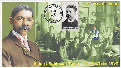 Jvc Cachets - 2015 Robert Robinson Taylor Black Heritage First Day Covers Fdc #4