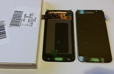 Samsung Galaxy S6 G920F Lcd Touch Screen Display Complete Original Genuine Black