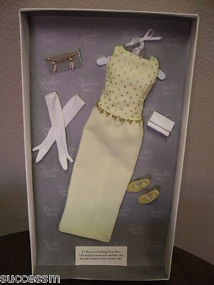 Franklin Mint Jackie Doll Yellow Gown Ensemble BRAND NEW Mint In Box