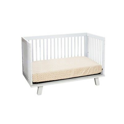 babyletto Hudson 3-in-1 Convertible Crib in White - M4201W