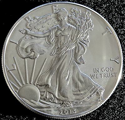 2013 1 Oz American Silver Eagle Bu .999 Fine Beautiful!!!!!