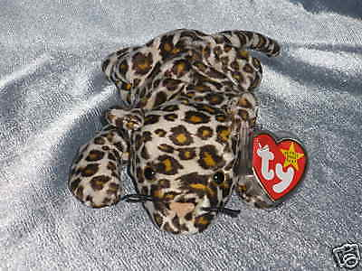 1996        Ty Beanie Baby     Freckles Leopard  Born June 3,1996 (8 1/2  inches