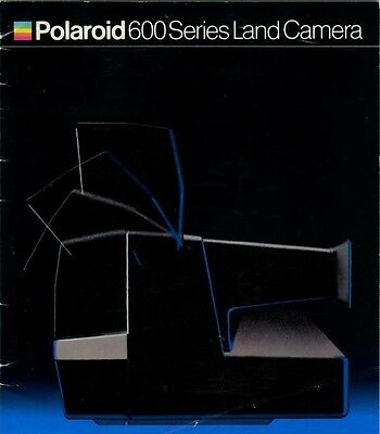 187611 instruction manual for polaroid 600 series land camera rh picclick com Polaroid 600 One Step Flash Rainbow Polaroid One600 Camera Manual