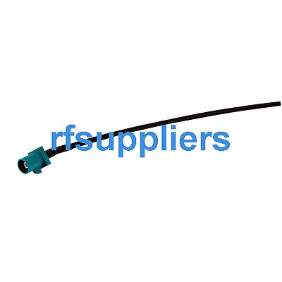 """Radio antenna Extension cable Fakra male Z  pigtail cable RG174 15cm 6"""""""