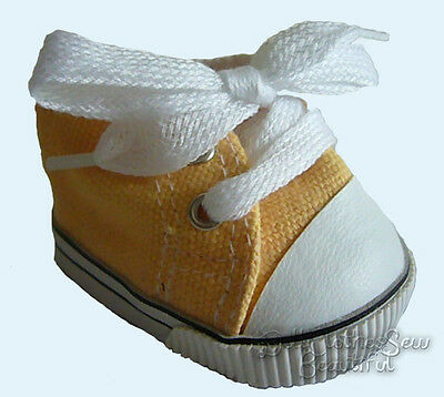 Yellow Gym Shoes Summer Sneakers for Bitty Baby + Twins Doll Clothes TOP QUALITY