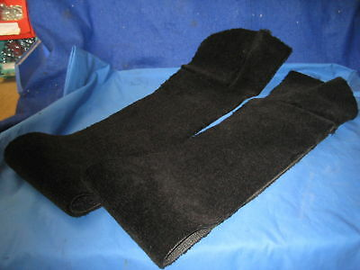 Mg New Pair Of Black Mgb Roadster Or Gt Sill Carpets Cill ***h16