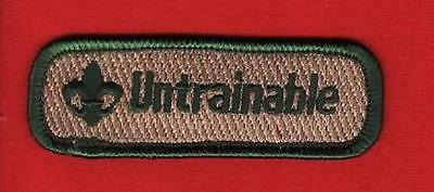 Trained patch - The Badge and Uniform Site