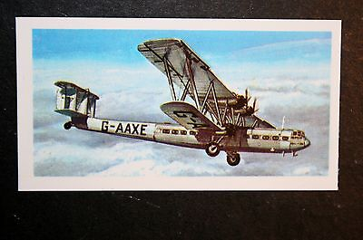 Handley Page HP42   Imperial Airlines   Illustrated  Card   EXC