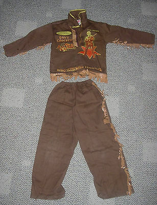 Walt Disney  Davy Crockett  Outfit Costume  Ben Cooper  1950's  Size 6  Dress Up