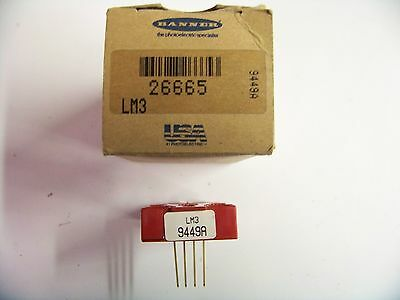 Banner #LM3-26665 Logic Module New 1/1/20