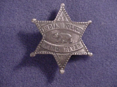 Badge WIND RIVER POLICE(BADGES OLD WEST) MADE IN USA