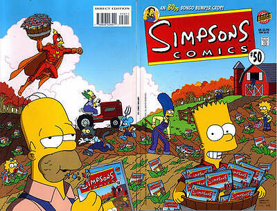 Bongo comics Simpsons #50 NM double size FREE UK POST