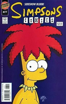 Bongo comics Simpsons #77 NM FREE UK POST
