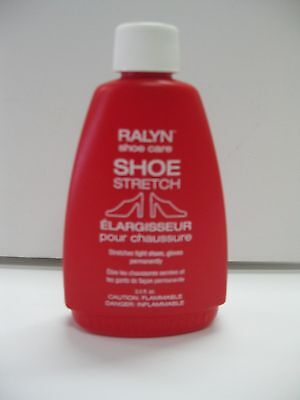Shoe Stretch Liquid  Leather Stretcher Red Bottle -  Liquid Shoe Stretcher