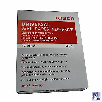 RASCH Universal Wallpaper paste for Vinyl- Paper -Präge - & foam 250 g
