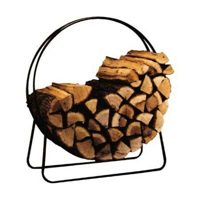 Panacea Products Outdoor Log Hoops, Black - A7715209