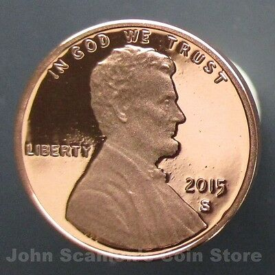 2015-S Lincoln Union Shield Cent- Gem Proof Deep Cameo US Coin- NOW IN STOCK
