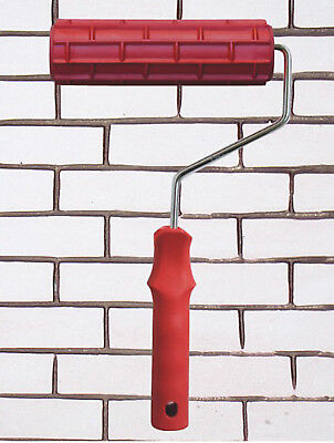 """7"""" Empaistic Pattern Wall Decoration Painting Paint Roller Tool with Handle"""