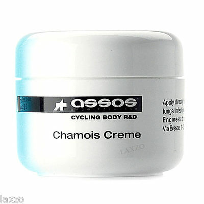 Assos Natural Anti-Bacterial Chamois Creme - 140ml Tub Bicycle Bike Cycling