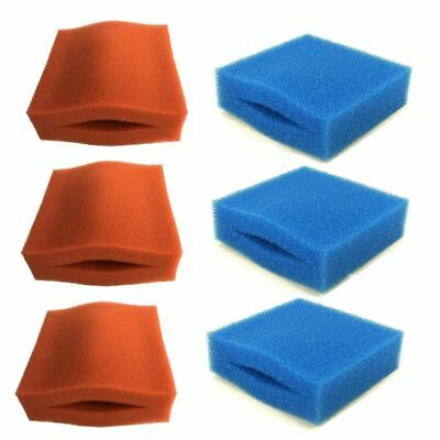 Complete Set Oase Biotec 5/10/30 Filter Foams 6 Sponges Replacement Coarse