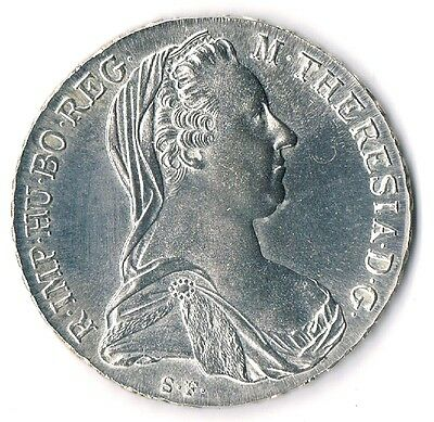 107) ÖSTERREICH   Silber-Taler   Maria Theresia   1780
