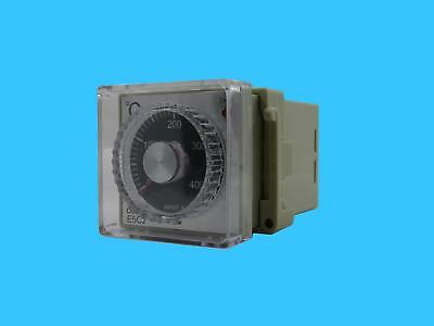 Omron Analog Set Temperature Controller with Front Cover (Model : E5C2)
