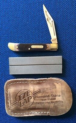 """Schrade """"Old Timer"""" (120T Pal) Knife With Free Sharpener. NEW!"""