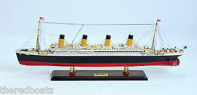 RMS Titanic  Museum Quality scale 1:350  - Handmade Ocean Liner Model Ship