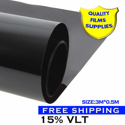 50cm*300cm Window Tint Solar Films Car Film Sticker Scratch Resistant Membrane
