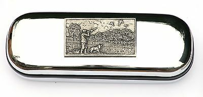Shooting Scene Glasses Spectacle Case  Shooting Gift FREE ENGRAVING & Postage