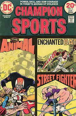 CHAMPION SPORTS #2 VG, DC Comics 1973