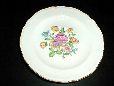 Edwin Knowles Floral Center #KNO191 Saucer/s